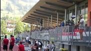 Засукани австрийки гледат Локо Пловдив срещу Стяуа