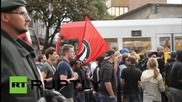 Germany: Activists march in solidarity with refugees in Cologne