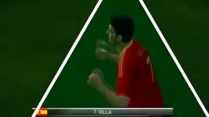 Испания са Световен Шампион!!! Южна Африка 2010