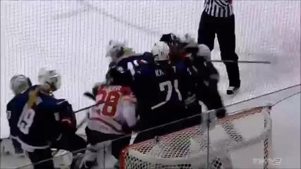 Женски бой в хокея