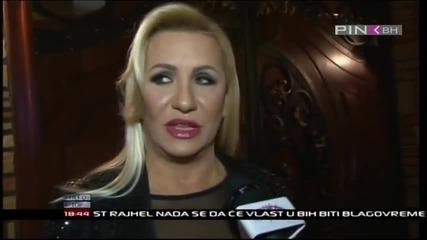 Vesna Zmijanac - Intervju - Info scena - (TV Pink BH 2014)