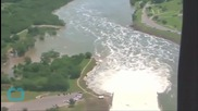 Swollen Rivers Cause Texas Cities to Worry About Flooding