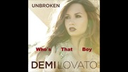 Demi Lovato ft. Dev - Who's that boy `new Song!!!`