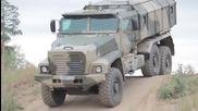 Руски военни камиони в действие 2014 !