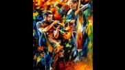 Tango - love... ...leonid Afremov ... paintings...(amanda Lear...julio Iglesias)