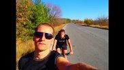 От София до Стара Загора и обратно с колело - 3 дни 500км.
