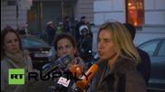 "Austria: Talks on resolving Syrian conflict ""can definitely start"" - Mogherini"