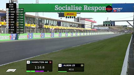 Хамилтън грабна първото място в квалификацията за Гран При на Португалия