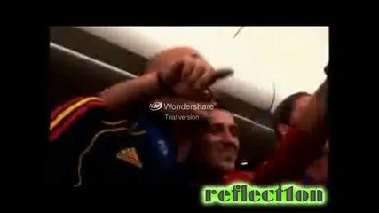 Ето какво правят футболистите на Испания след мача с Холандия