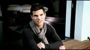 Превод! New - Taylor Lautner - Star Ambassador