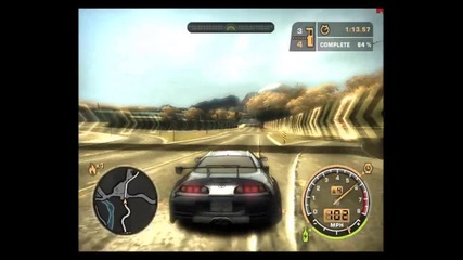 Need for Speed: Most Wanted Gameplay - Toyota Supra