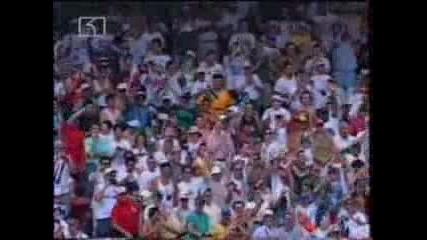 Господ е Българин !!! България бие световния Шамион във Сащ 94 !!! Насладете Се !!!