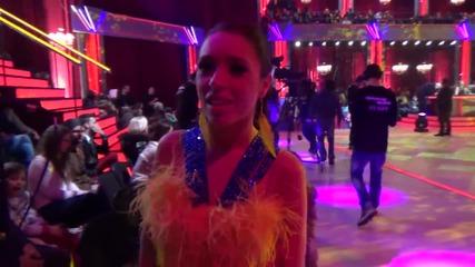 Dancing Stars - Мика Стоичкова зад кадър (11.03.2014г.)