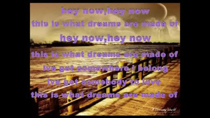 Hilary Duff - What Dreams Are Made Of [with lyrics]
