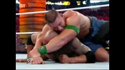 The Rock vs John Cena // Wrestlemania 28
