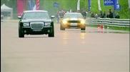 Ford Mustang Gt500 vs Chrysler 300c vs Mercedes C63 Amg vs Bmw M6