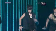 Beast / B2st - Breath [live at Music Bank 1.10.2010]