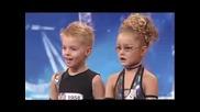 две деца изумиха света с танц