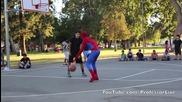 Спайдермен играе баскетбол!!!