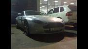 Aston Martin По Улиците На София