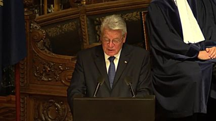 Germany: UN SecGen and Pres. Gauck mark Law of the Sea tribunal anniversary