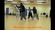 Steve Bolton ft Yeya in France - Brian Mcknight /hip hop dance/
