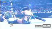 Michelle Mccool vs Melina | Lumberjack match | Decade of Smackdown 2009 / not full /