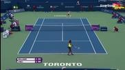 Toronto 2015 Serena Williams vs Roberta Vinci Set-1