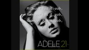 * Превод!!! Adele - Rumour has it