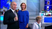 Russia: Putin starts 'Direct Line' Q&A session, taking question about Russian roads