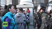 Трети ден на протестите в Скопие