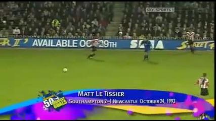 Top 10 - Premier League Goals Of All Times (amazing Goals!!!)