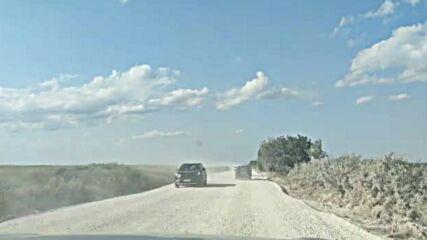 Лошо състояние на главния път от Варна до Албена