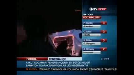 Paok Hooligans Gate 4 in Turkey