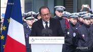 France: Hollande addresses security forces on Charlie Hebdo anniversary