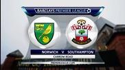 Норич Сити - Саутхемптън 1:0, Висша лига, 20-и кръг