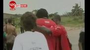 Трагедия!! Футболният отбор на Того обстрелван!!!!