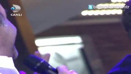 Yilmaz Erdogan & Kivanc Tatlitug - Tabip Sen Elleme (bul Getir) - Beyaz Show 2014