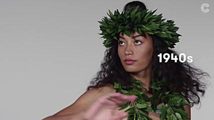 100 години назад в модата - Хавайската жена от 1910г. - до наши дни