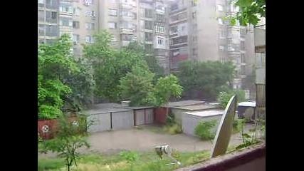 Дъжд в Пловдив