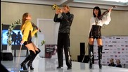 Ятор-шоу на элитной свадебной выставке в крокус экспо