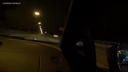 Lamborghini Gallardo Nera 1050hp vs Nissan Gt-r Ams Alpha 12 920hp