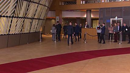 Belgium: Climate change on agenda as EU leaders arrive to EC summit
