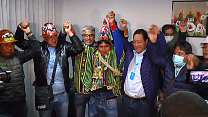 Bolivia: 'We have recovered democracy' - Arce as exit poll points to election victory