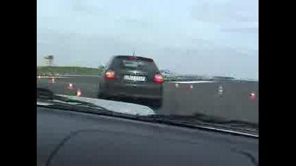 Audi S3 And Impreza Gt На Писта