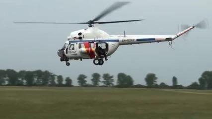 Висш пилотаж на полицейски Ми-2