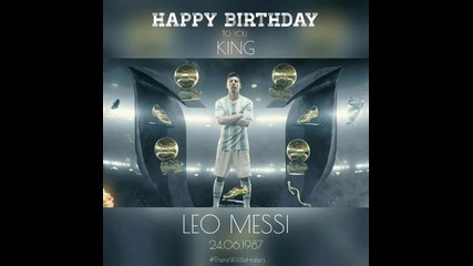 Happy Birthday Messi!