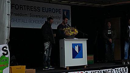 Петър Низамов Перата в Дрезден 03.10.2016г. на празника на Обединението на Германия