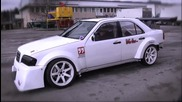 Нереален Mercedes C36 Amg Turbo Driftcar - Testdrive 2