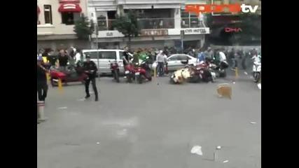 Hooligans! Панатинайкос vs. Галатасарай в Истанбул!!! *12.05.2012г.*